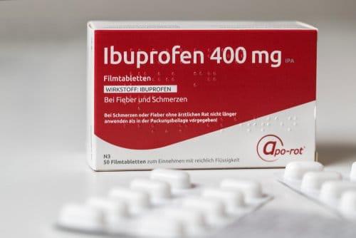 boîte d'ibuprofène 400 mg