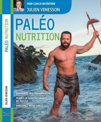 couverture du livre paléo nutrition de julien venesson